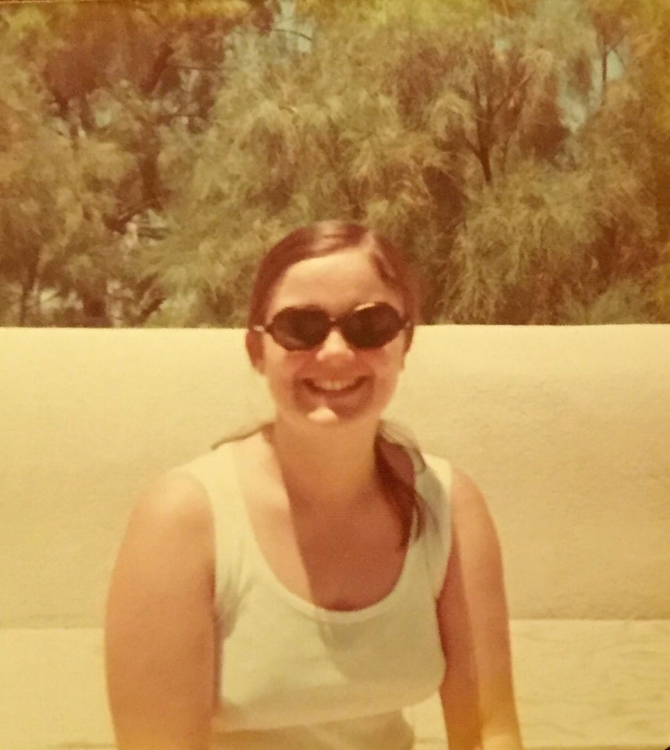 Photo of my mother in the 70s,